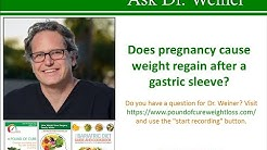 Does pregnancy cause weight regain after a gastric sleeve