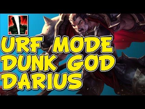 ALL RANDOM URF MODE!! URF DARIUS DUNKS FOR ALL! League Of Legends