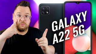 Samsung Galaxy A22 5G ¿RIVAL PARA XIAOMI? REVIEW