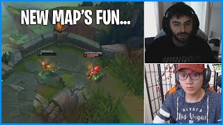 New Map's So Fun | Why We Love Season 10 | LoL Daily Moments Ep 674