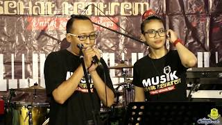 Jamming INDRA Q feat OUTRO - Mawar Merah - SLANK (Cover)