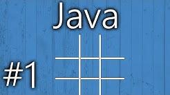 Tic Tac Toe programmieren | Java | #1 | Anfängertutorial | [ger/1080p60]