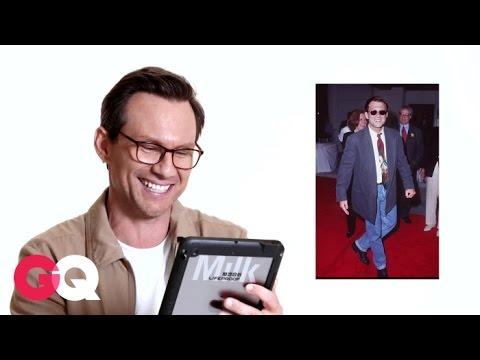 Christian Slater Reviews His 1980s Fashion Choices   GQ