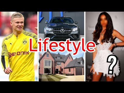 Erling Haaland Lifestyle Girlfriend Networth Cars Family Borussia Dortmund Youtube