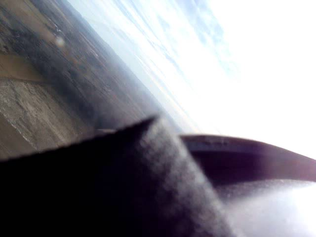 Landing at Huntington Airport