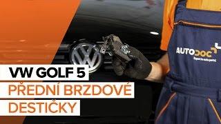 Demontáž Brzdové Destičky VW - video průvodce