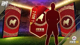 2 FOR 1 ULTIMATE PACKS!! LUNAR NEW YEARS! | FIFA 18 ULTIMATE TEAM