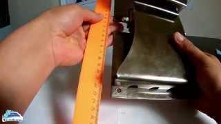 видео Держатель ковриков для автомойки