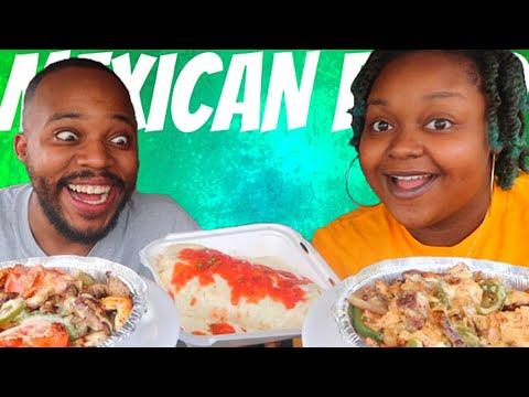 TACO TUESDAY CARBANG! AUTHENTIC MEXICAN FOOD | FIESTA FAJITA BOWLS + GRANDE BURRITO 먹방 EATING SHOW thumbnail