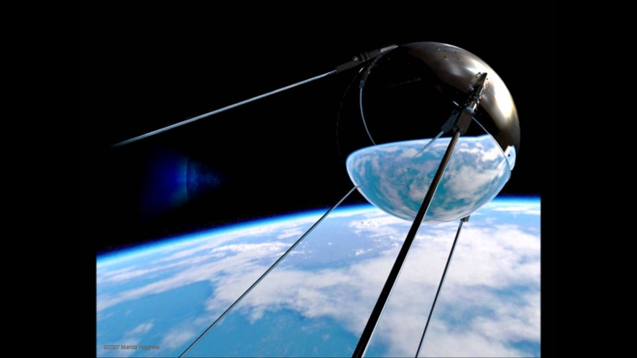 sputnik and the cold war I know sputnik is a space satellite sent by the soviet union at that time, politicians in the us were telling their constituents that the soviet union was starving because of their five year plans and the highest technology they possessed was indoor plumbing.