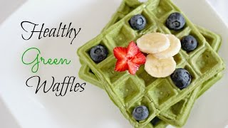 Healthy Waffles DIY - No Flour, No Sugar !