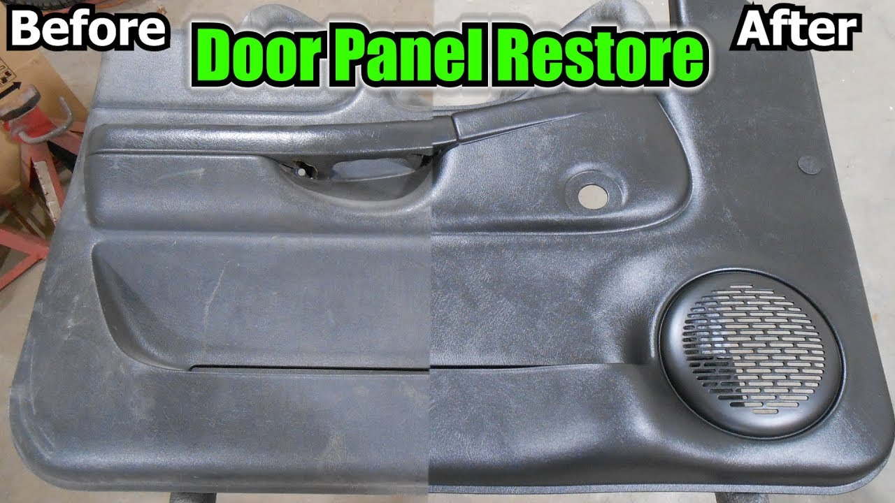 Project Junk S10 Door Panel Restore Youtube