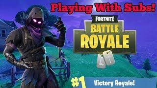 Helping Subs Get Wins! - Road To Tier 100! - Fortnite (Xbox One)