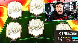 OMG I GOT 6 MOMENT ICONS IN 1 DRAFT!! MY BEST DRAFT YET! FIFA 20