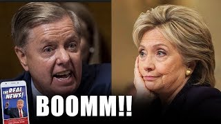 HILLARY IN DEEP CRISI AFTER SEN.GRAHAM JUST WENT ON LIVE TV & RIPPED HER TO PIECES BY THIS