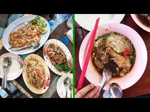 Thai Street Food at Chatuchak Weekend Market