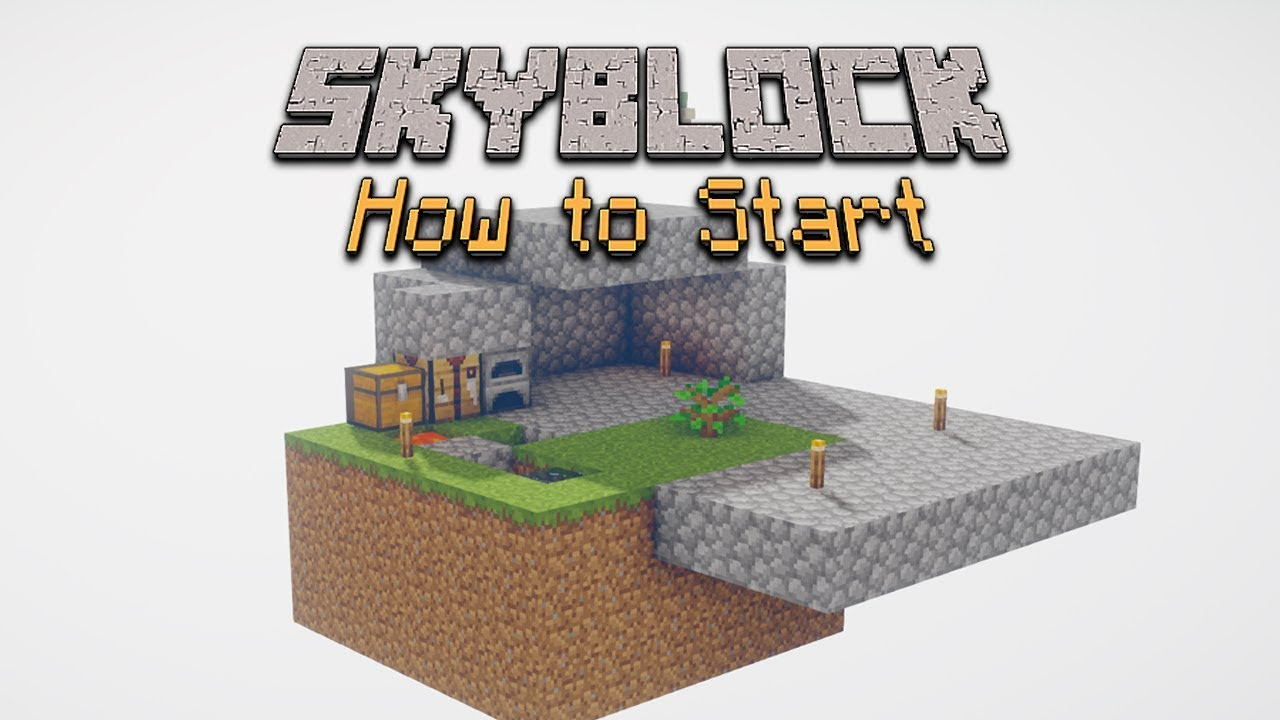3 Ways to Play SkyBlock in Minecraft wikiHow