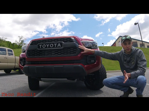 Is the 2017 TRD PRO Tacoma Really Worth $45,000??? - Review and Driving Impressions