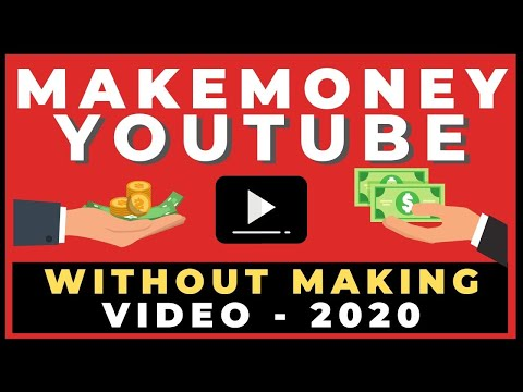 Make Money On Youtube Without Making Any Videos In 2020 ( Make Money Online)