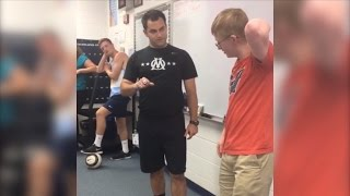 Soccer Manager With Down Syndrome Gets Surprise Championship Ring From Team