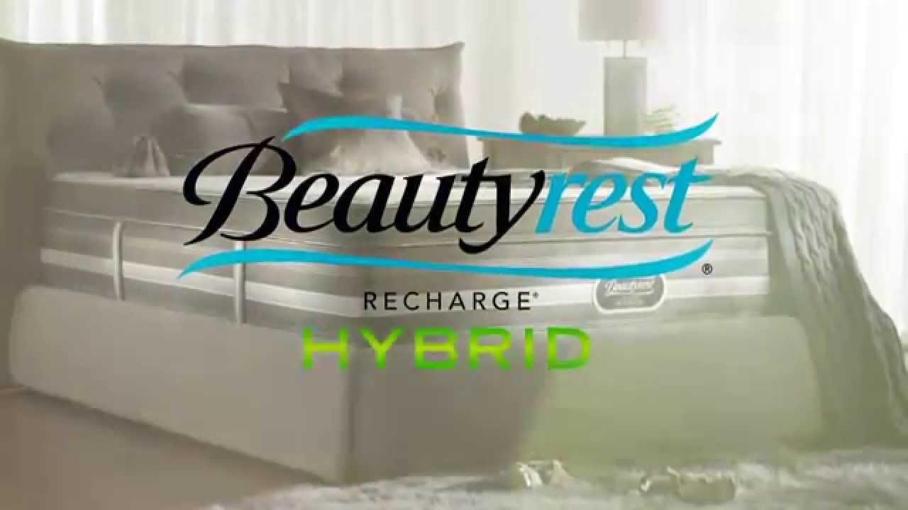 beautyrest recharge hybrid mattress