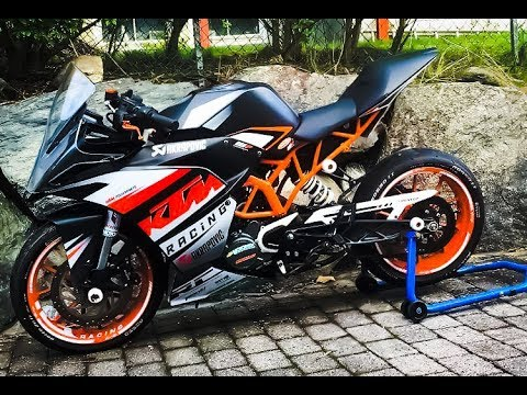 ktm rc 125 tuning story youtube. Black Bedroom Furniture Sets. Home Design Ideas