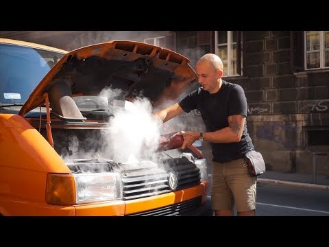 THE VAN'S ON FIRE | Van Life Europe