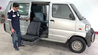 中華菱利安裝福祉升降椅在中座