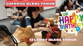 SURPRISE 😀!!ADA Yang ulang Tahun,Teman kerja mas BOS!! cerita TKW TAIWAN