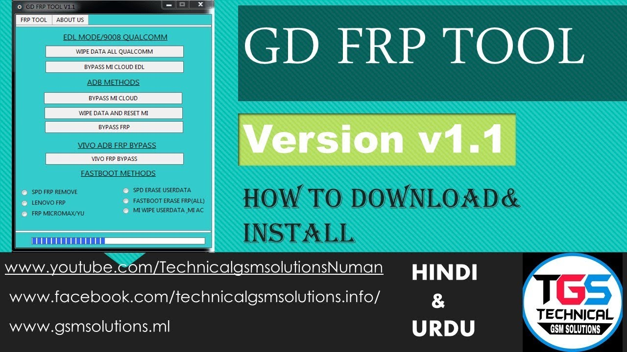 GD FRP Tool V1 1 Free Download 100% Working 2019 - YouTube