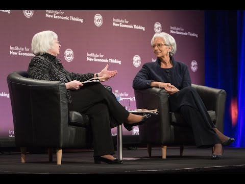 A Conversation with Christine Lagarde & Janet Yellen