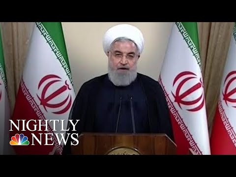 Europe, Iran Attack President Donald Trump's Iran Deal Withdrawal | NBC Nightly News