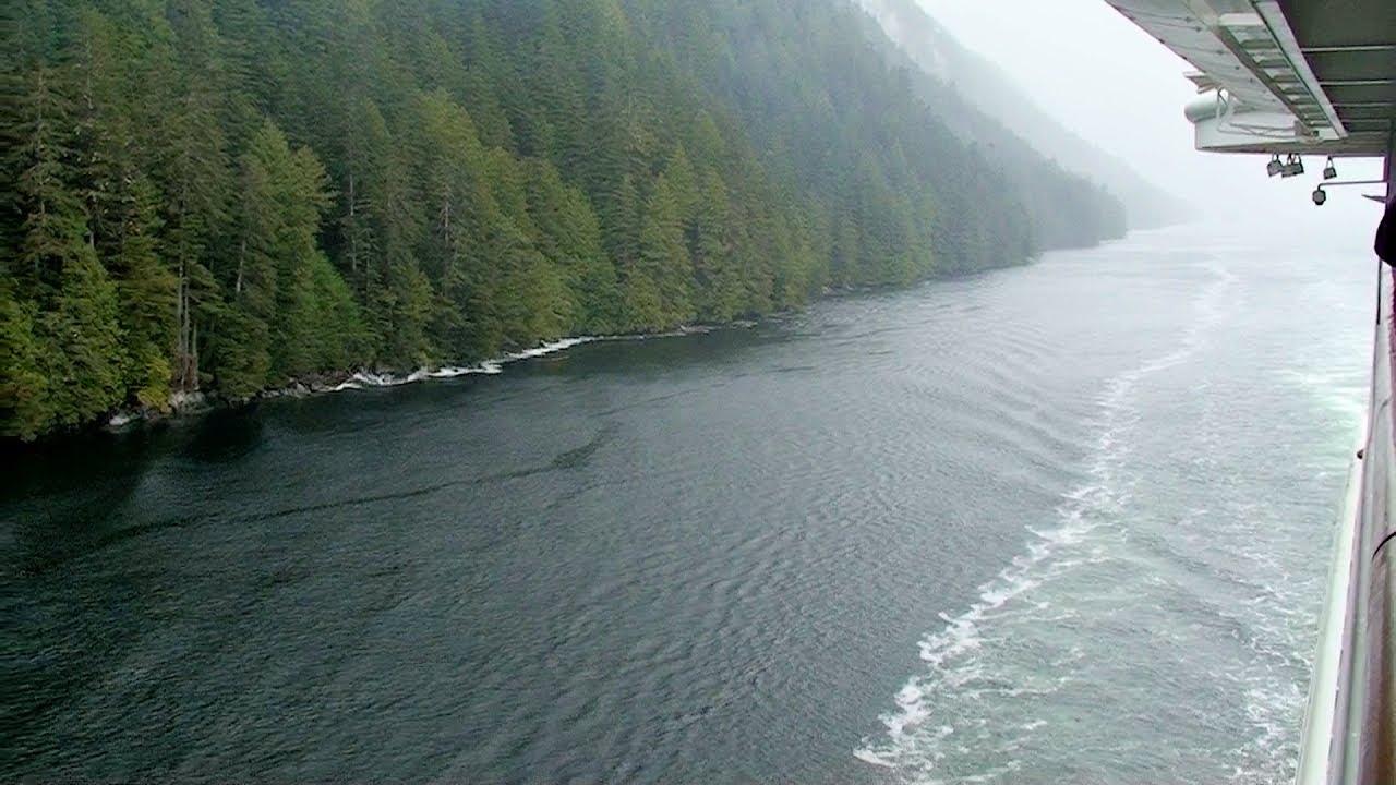"""Disney Wonder"" • Inside Passage, Canada • Alaska Cruise"