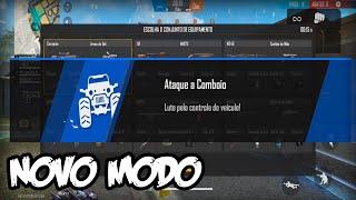 JOGUEI O NOVO MODO ATAQUE A COMBOIO - FREE FIRE | Z7PLAY