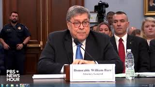 WATCH: Barr: 'I've said what I'm going to say' about the Mueller report