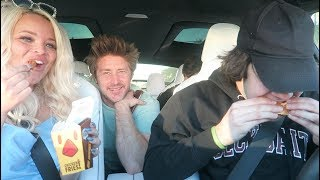 BURGER KING MUKBANG! w/ DAVID DOBRIK, JASON NASH, AND JONAH!