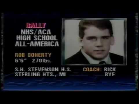 1987 BALLY high school all america team