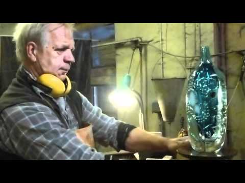 Peter Hermansson THE WORK. Grinding with coldworkingmaster Berth-Arne.
