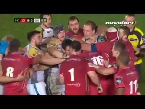 Ospreys can't take being battered in the scrum vs Scarlets (03/01/15)