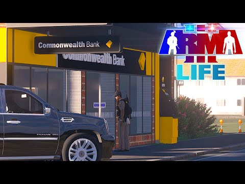 Arma 3 Life Police #32 - Officer Kidnapping and Bank Robbery