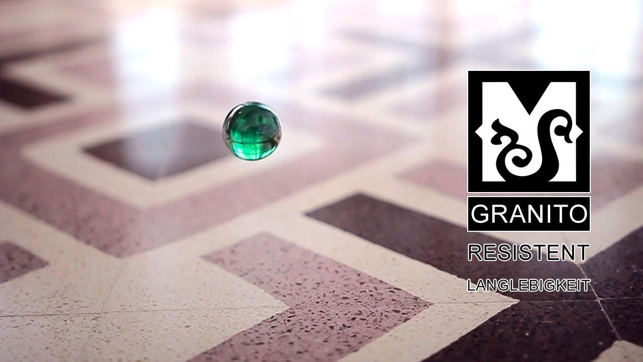 Granitofliesen Mosaic del Sur – resistent und langlebigkeit - YouTube