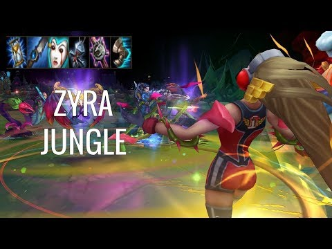 THE MOST OP MAGE JUNGLE?! - Zyra Jungle - Off Meta Monday - League of Legends