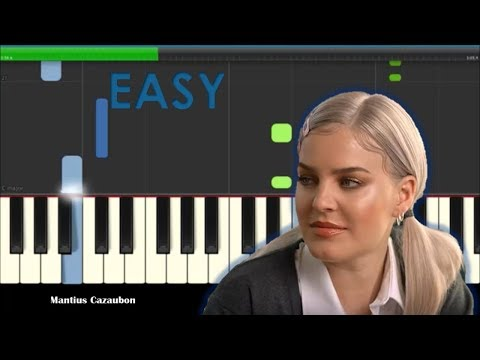 Anne-Marie 2002 Easy Piano Tutorial - How To Play