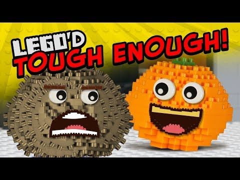 Annoying Orange - Tough Enough LEGO'D!