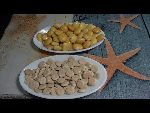 Como preparar los altramuces secos