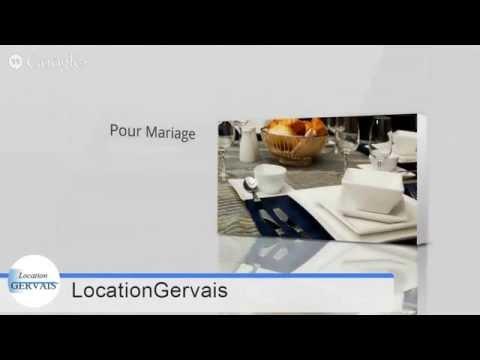 Location De Chaises Et Tables - Location Gervais