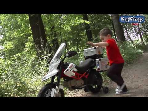 Peg Perego Ducati Hypercross Akülü Motosiklet