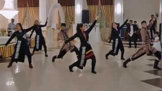 Танец - Кара жорга - звезды Уральска!!! Lapardin Wedding Video.