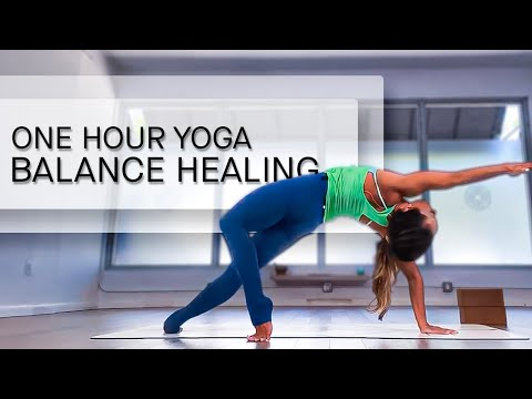 One Hour Yoga For Balance And Healing