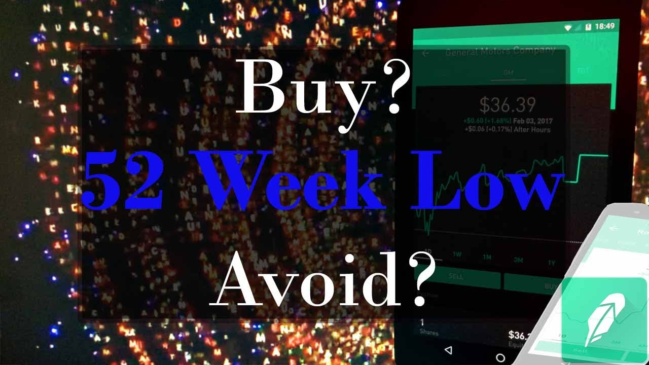 52 Week Low Stock Trading Strategy « Make money while you sleep